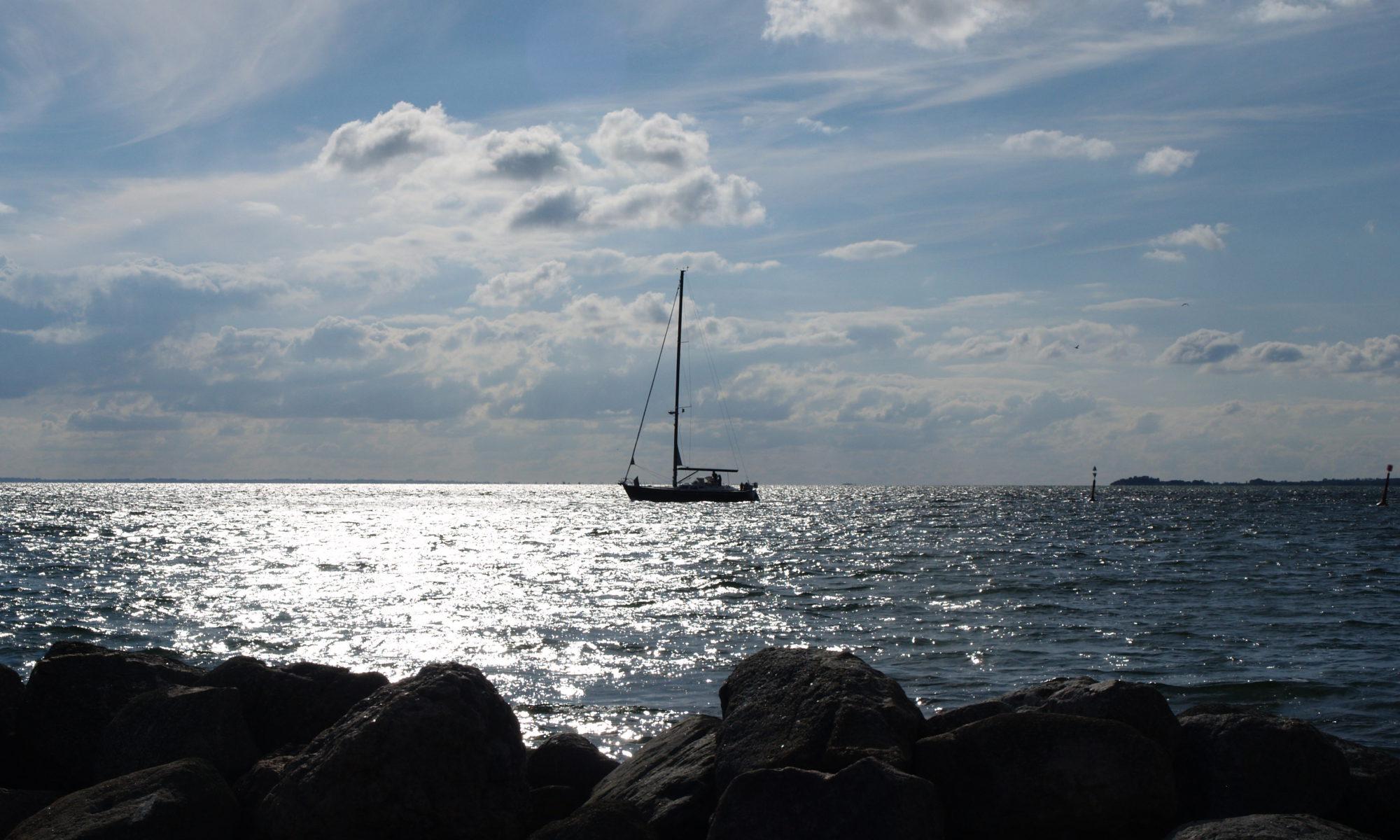Zeilen in de Oostzee