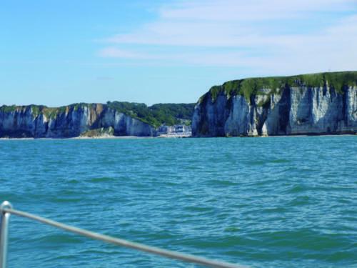 Zeilen in Normandie